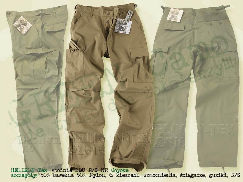 HELIKON Tex. spodnie BDU RS NR Coyote