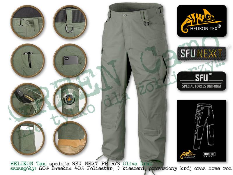HELIKON Tex. spodnie SFU NEXT PR RS Olive Drab