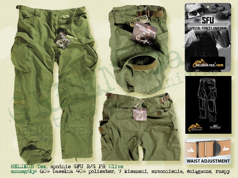 HELIKON Tex. spodnie SFU PR RS Olive