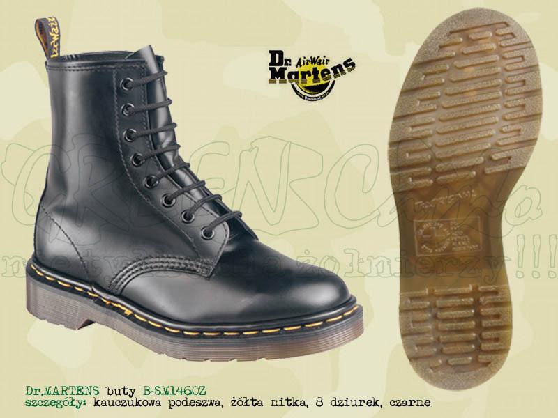 strona internetowa ze zniżką ceny detaliczne świetna jakość Dr.Martens buty B-SM1460Z