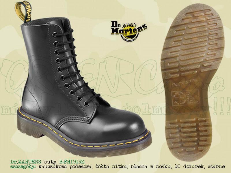 100% jakości wylot online oficjalna strona Dr.Martens buty B-FH1919Z