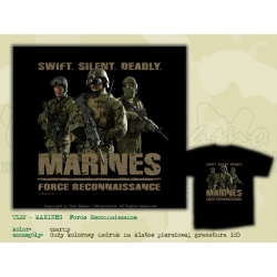 MILpictures T-Shirt MARINES - Force Reccoinassance