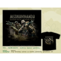 MILpictures T-Shirt JAGDKOMMANDO 01 - Austrian Special Operation Forces