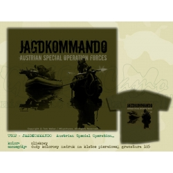 MILpictures T-Shirt JAGDKOMMANDO 02 - Austrian Special Operation Forces