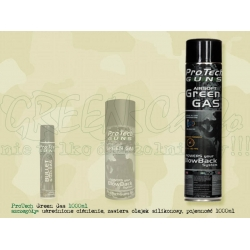Pro Tech Guns Airsoft Green Gas z olejkiem silikonowym 1000ml