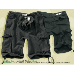 Surplus Tex. spodenki Vintage Shorts Black