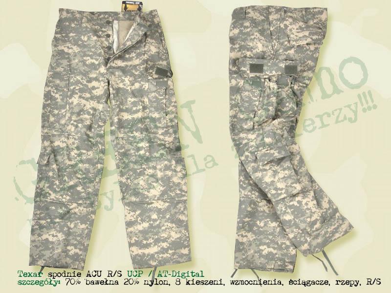 TEXAR spodnie ACU RS AT Digital