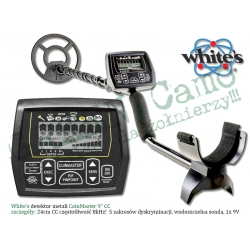 White's CoinMaster Black 9